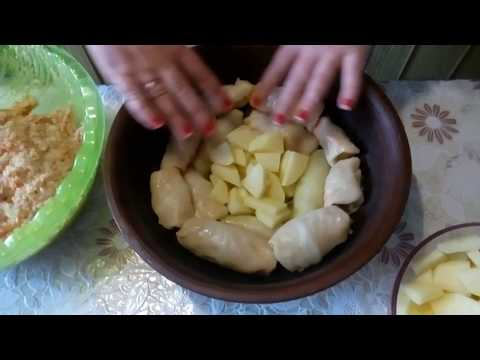 Голубцы с картошкой мой  вкусный секрет для семьи!