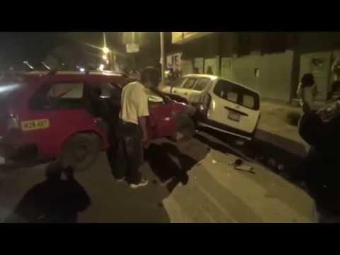 SERENAZGO CAJAMARCA - Asaltantes de ama de casa/ Accidente/ 06-08-14