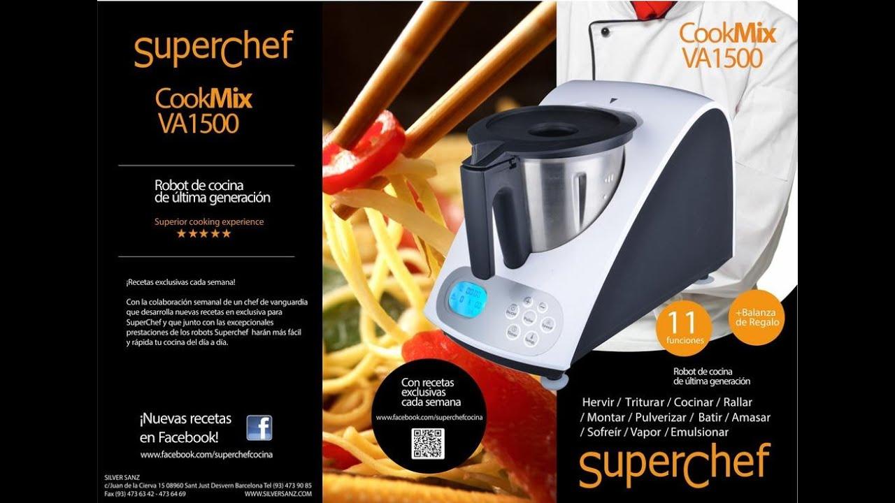 Reparaci n de electrodom sticos t cnicos superchef va1500 for Cooking chef vs thermomix