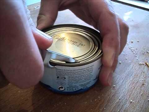Comment ouvrir une boite de conserve avec un couteau suisse victorinox youtube - Comment ouvrir une conserve ...