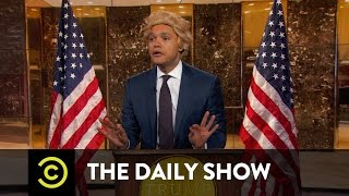President-Elect Trump Takes On the Crooked Media: The Daily Show