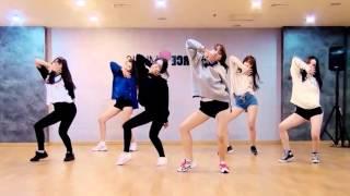 GFRIEND Rough mirrored dance practice video