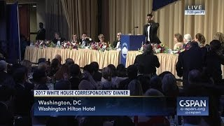 2017 White House Correspondents' Association Dinner (C-SPAN)