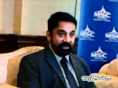 KamalHassan At Cyber Jaya For FICCI