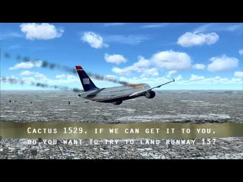 Us Airways Flight (Cactus) 1549 Crash Miracle On The Hudson With ATC