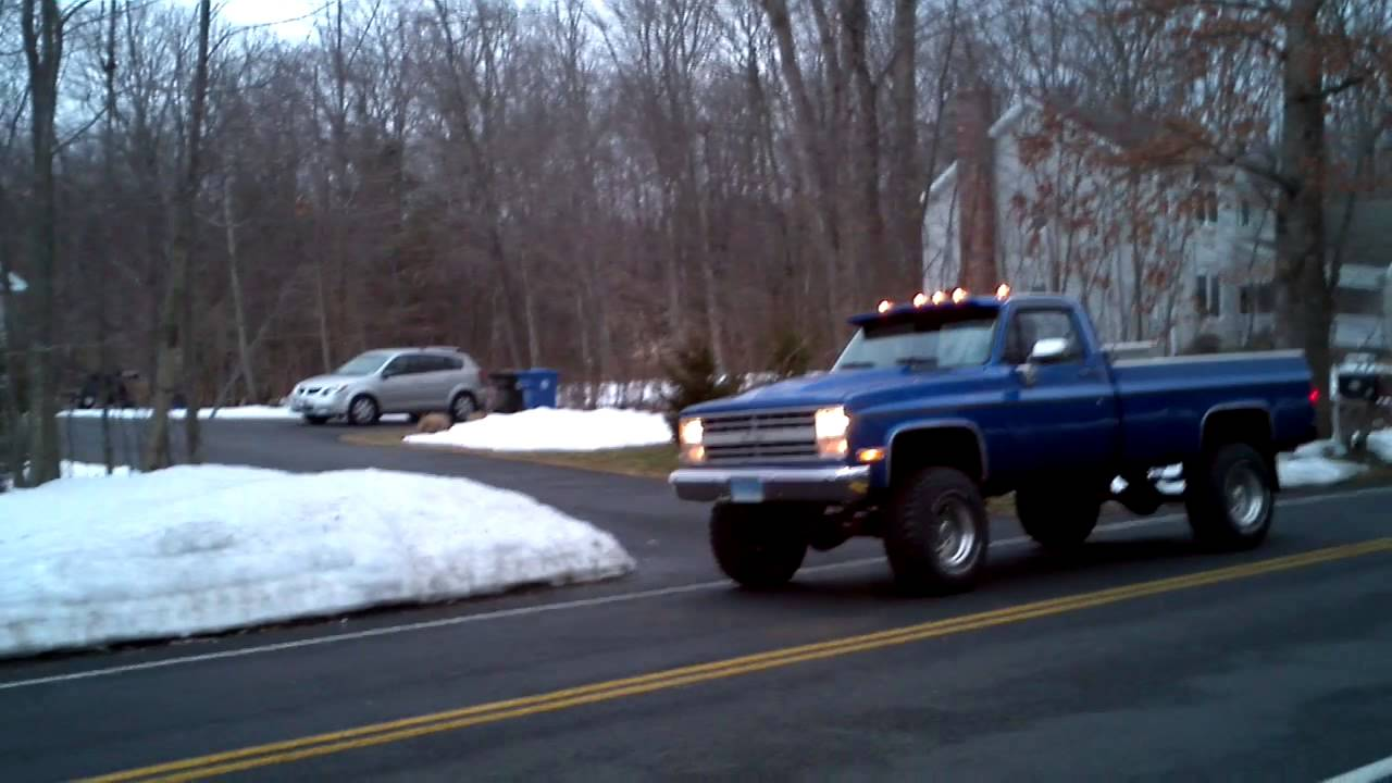 1986 Chevy K20 4x4 Trade  cars amp trucks  by owner