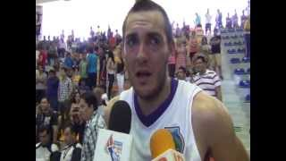 Entrevista con Pablo Santana Final Basquetbol Varonil Universiada Nacional 2013