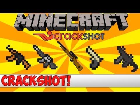 Minecraft Bukkit Plugin - Crackshot Guns - Tutorial