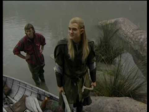LOTR Fellowship of the Ring DVD Orlando Bloom Featurette