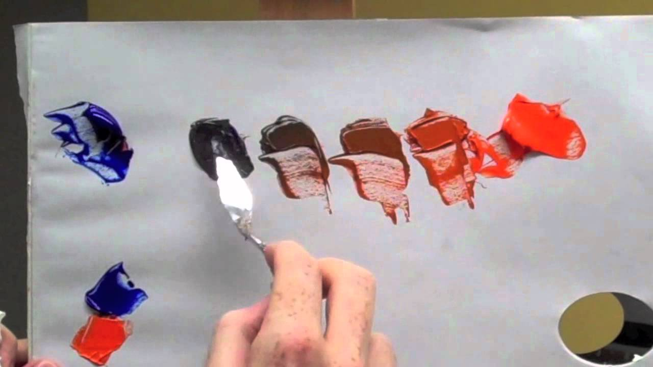What Colour Paints Mixed Make Brown