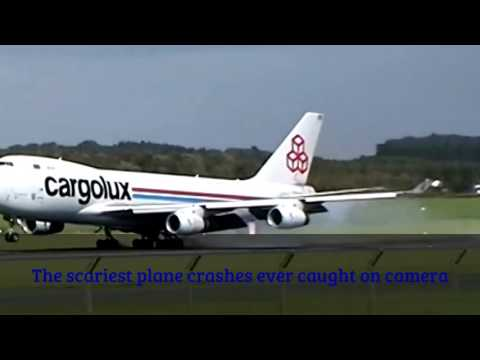 The scariest plane crashes ever caught on camera 2017