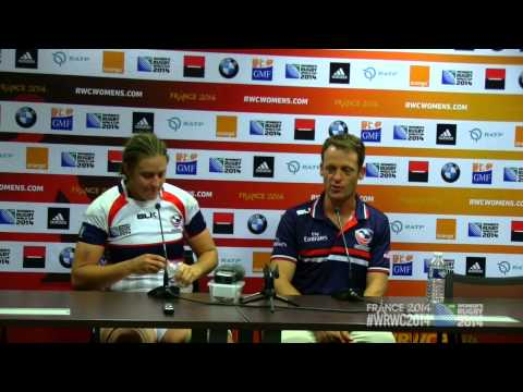 WRWC 2014 - USA Women's Eagles vs NZ Game 5: Post Match Wrap-up
