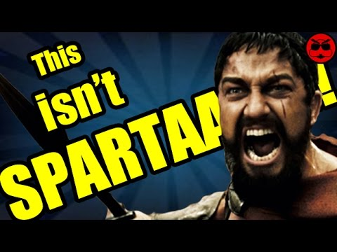 This is SPARTA! Or is it??? - Culture Shock