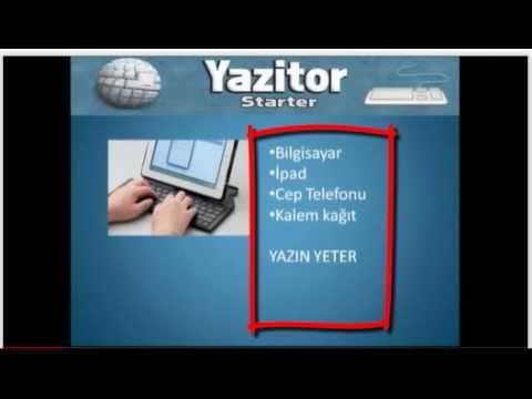 YAZİTÖR STARTER İLE NASIL PARA KAZANILIR/MAKALE YAZ PARA KAZAN