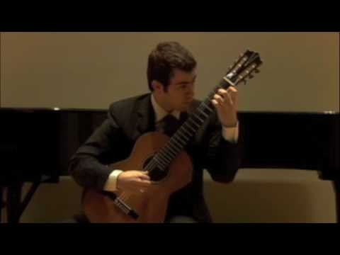 Ahmet Sonmezler plays Presto from BWV 995 by Bach
