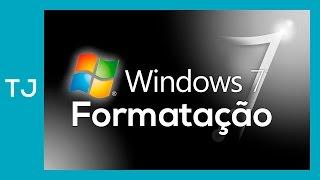 Como formatar um PC e instalar o windows 7