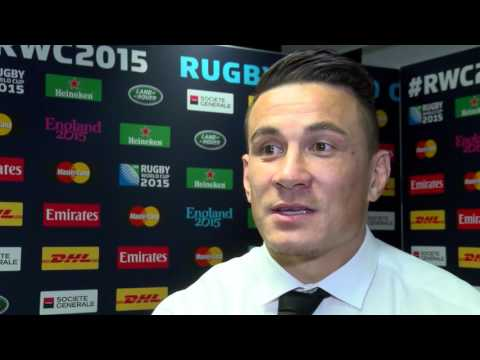 Post South Africa win with Sonny Bill Williams