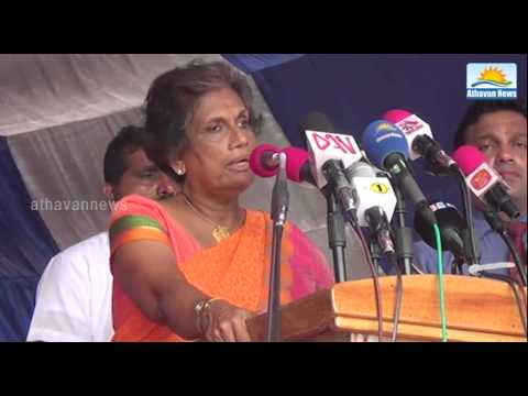 Lyca agreed to cooperate to solve the Drinking water issue in Jaffna : Chandrika