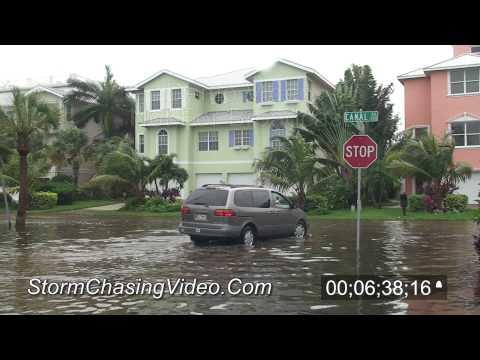 Tropical Storm Debby - 2012 Sarasota, FL Street Flooding