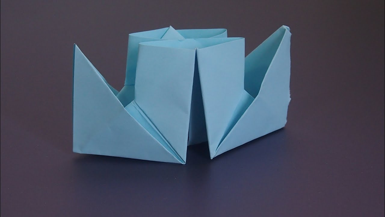 Как сделать бумажный кораблик с двумя трубами