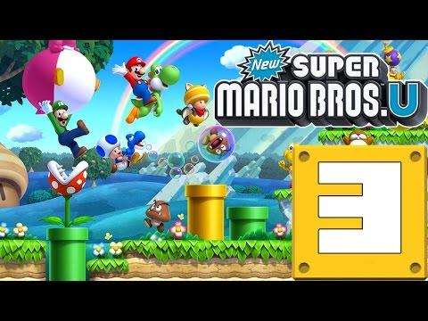 New Super Mario Bros Wii U! Capitulo 3!