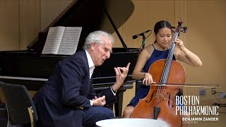 Benjamin Zander's Interpretations of Music: Bach Cello Suite No. 2, Prelude