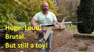 """""""Airzooka"""" long range test - Fat Man for real?"""