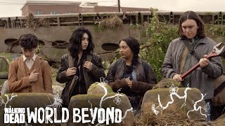 The Walking Dead: World Beyond Teaser: Doodle