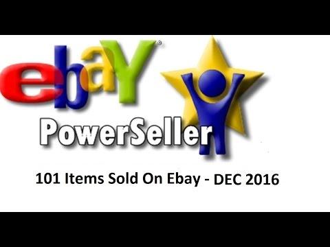 101 Items To Sell On Ebay - December 2016 - Thrift Shops Garage Sales Flea Market Finds