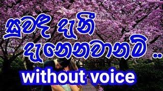 Suwada Danee Danee Danenawa Karaoke (without voice) සුවඳ දැනී දැනෙනවානම් ..