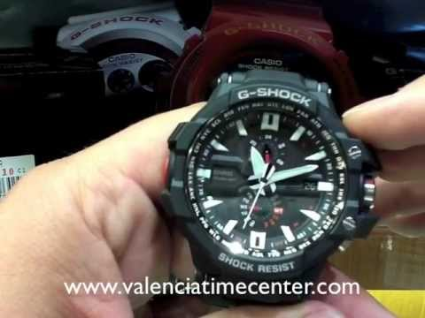 How to set Casio GW-A1000-1 and GW-A1000D-1 Watch Review by Valencia Time Center