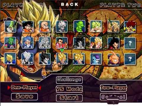 dragon ball z fighting 2 0