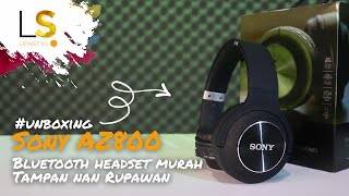 #Unboxing SONY AZ800 , Bluetooth headset komplit yang bisa bikin gaya