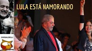 Lula está namorando firme, sabiam?