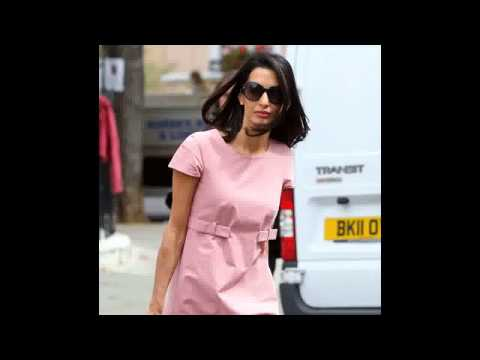 Amal Alamuddin Turns Down UN Commission For Gaza