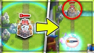 WTF! INFINITE SPARKY RANGE GLITCH! SHOOT ACROSS THE ENTIRE ARENA! | Clash Royale Mythbusters #7!