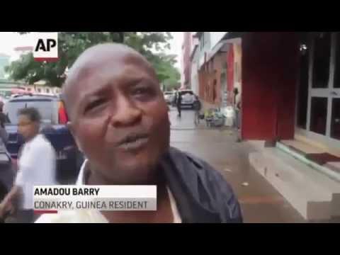 """EBOLA DEATH"" CAUGHT ON CAMERA Ebola outbreak 2014"