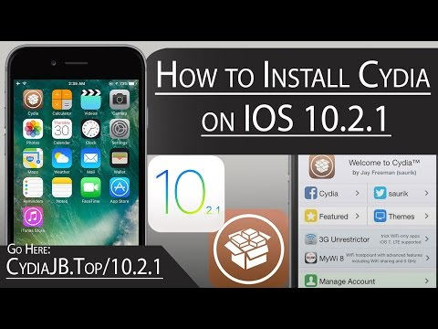 how to install cydia on ios 10.2.1 no jailbreak&computer needed (2017)