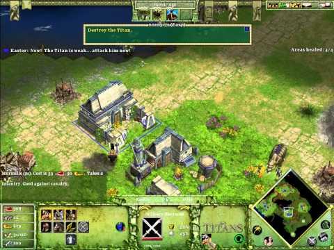 Age of Mythology: The Titans Speedrun M10 (9:01)