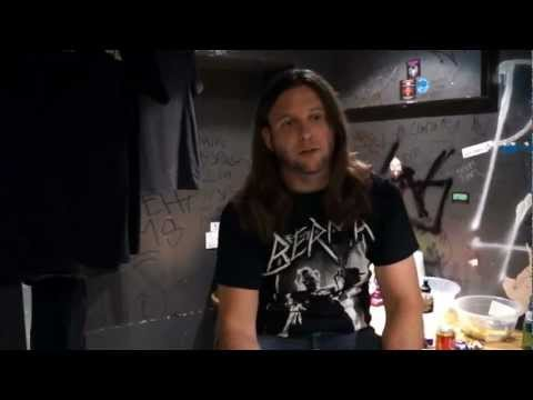 Unearth interviewed @ The Underworld. London (UK)