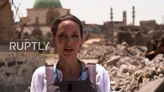 Video: Mosul, Iraq: The worst devastation I've seen - Angelina Jolie