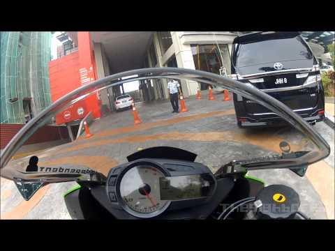 How to access Empire Gallery's superbike parking area