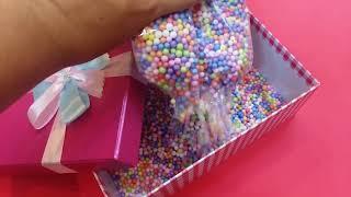 Hộp quà hạt xốp bỏ son môi tặng bạn gái !