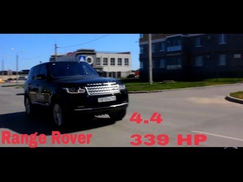 """Тест-драйв Land Rover Range Rover 4.4"""" Сухопутная яхта на Российских просторах"""""""