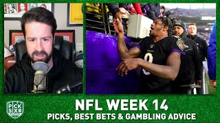 Week 14 Picks Against the Spread, Best Bets, Gambling Advice I Pick Six Podcast