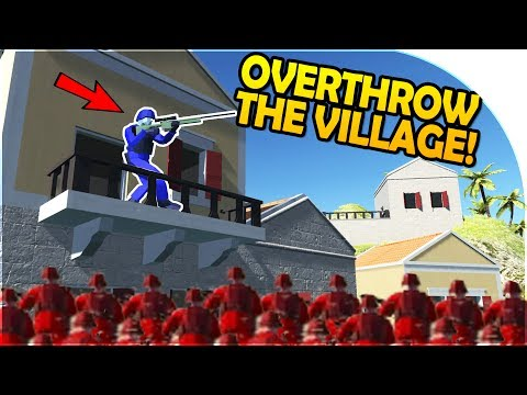 """OVERTHROWING THE VILLAGE"" - VILLAGE DICTATOR! - NEW Ravenfield UPDATE - Ravenfield Beta 7 Gameplay"