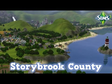 The Sims 3 - Storybrook County Review (FREE world)
