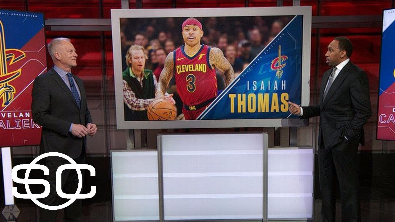 Stephen A. wonders why Isaiah Thomas can play vs. Blazers but not vs. Celtics | SportsCenter | ESPN