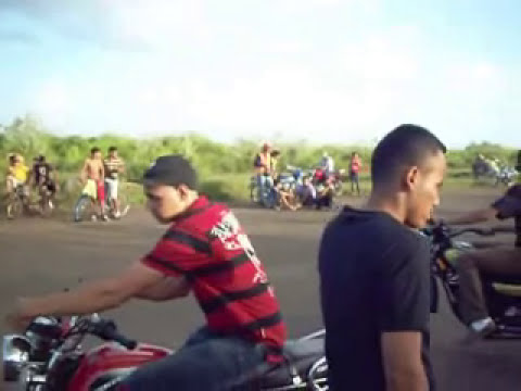paso real de basilon en guaribe 2012.wmv