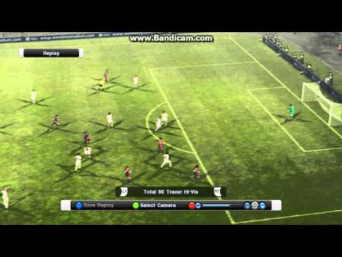 Dani Alves Free Kick Goal Pes 2011 video